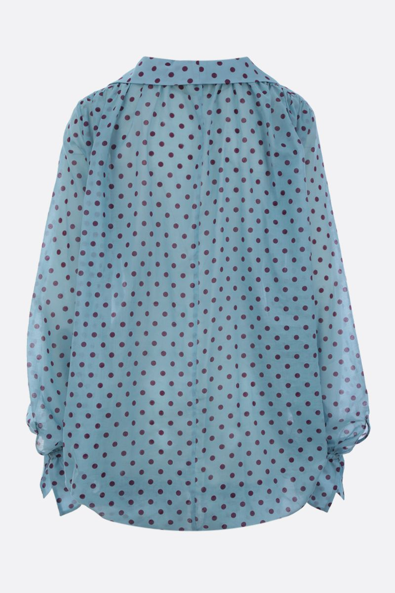 JEJIA: blusa in cotone a pois_2