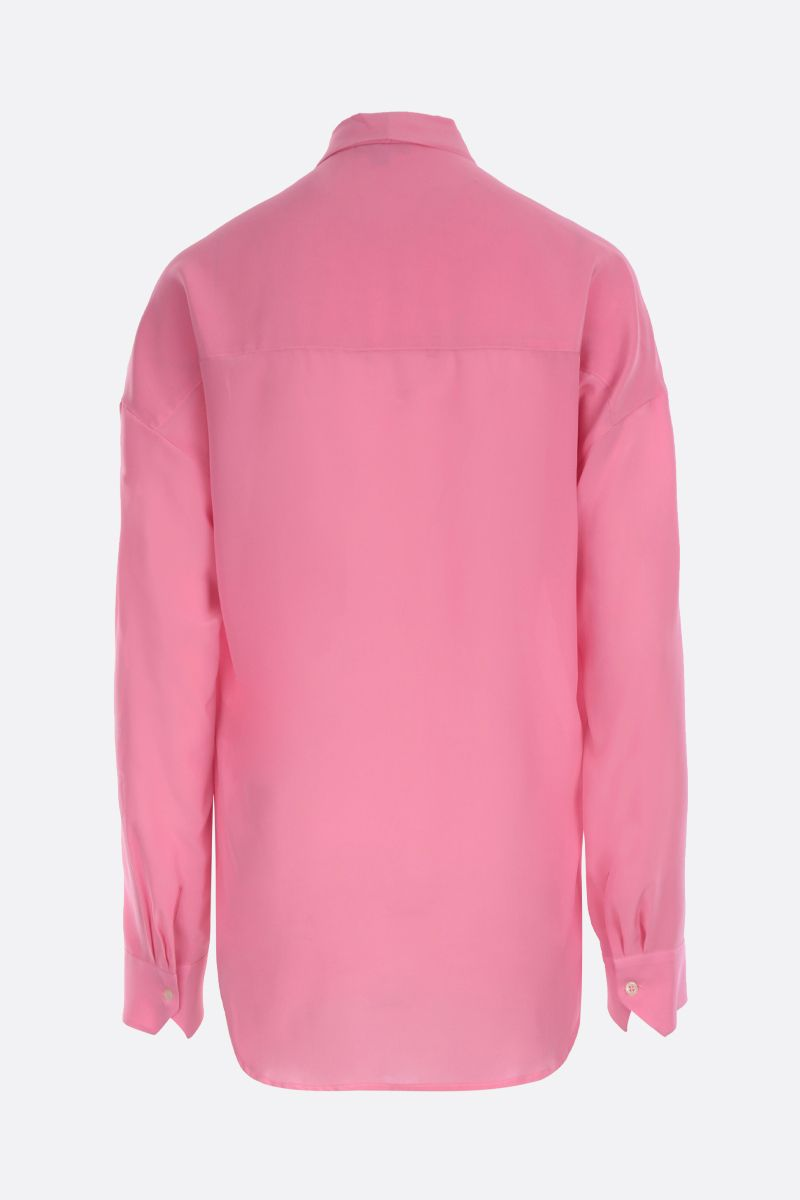 JEJIA: Jackie crepe de chine blouse Color Pink_2