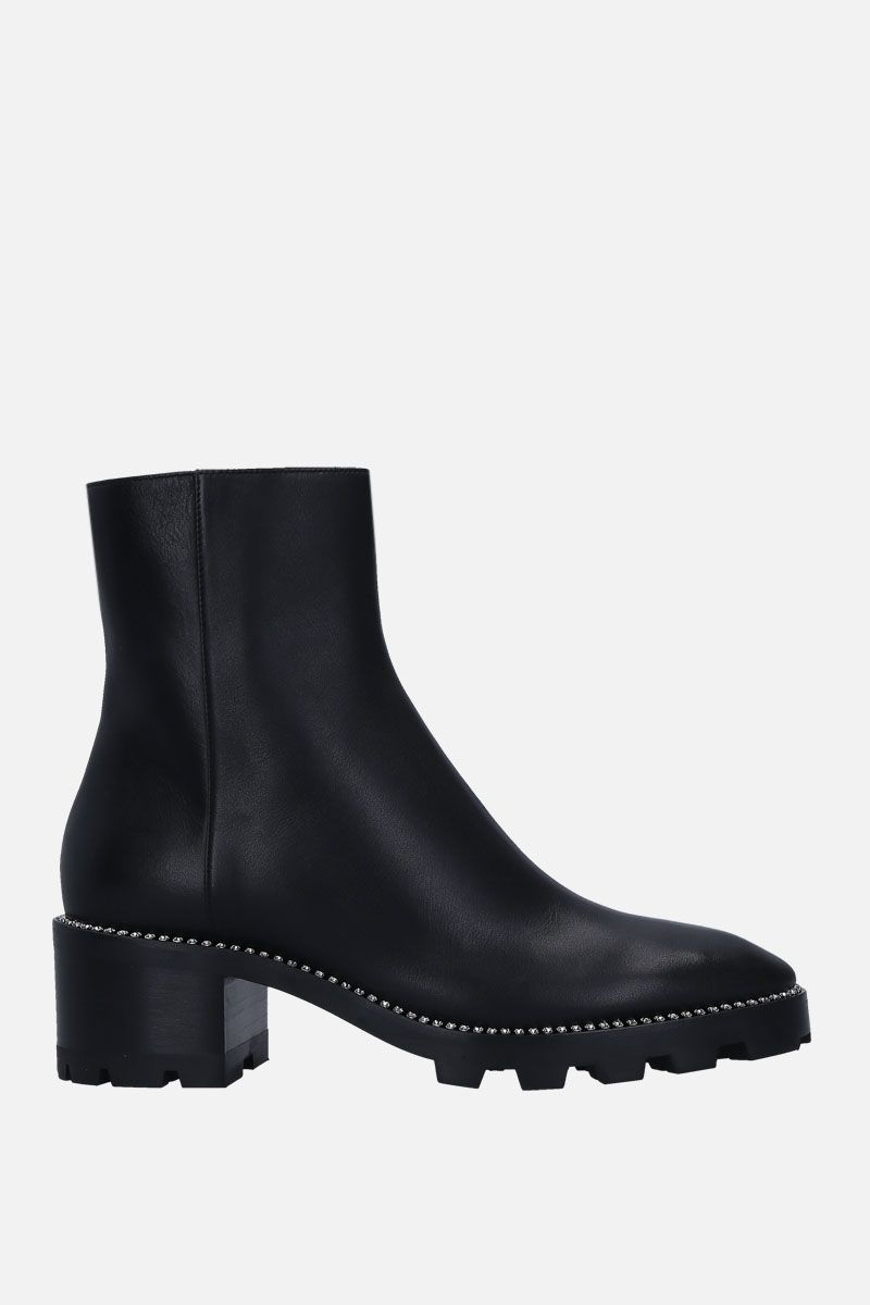 JIMMY CHOO: Mava ankle boots in smooth leather Color Black_1