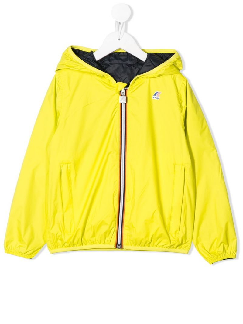 K-WAY KIDS: Jacques Plus Double nylon full-zip jacket_1