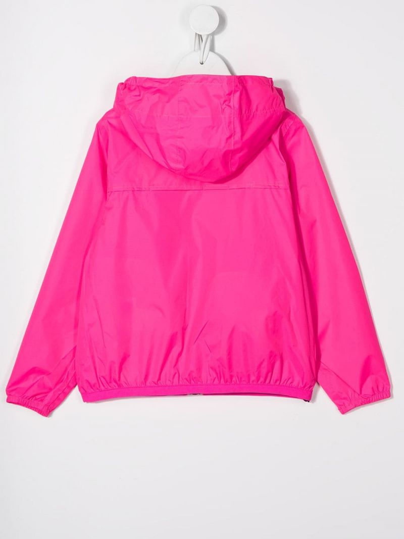 K-WAY KIDS: giacca a vento Le Vrai 3.0 Claude in nylon Colore Rosa_2