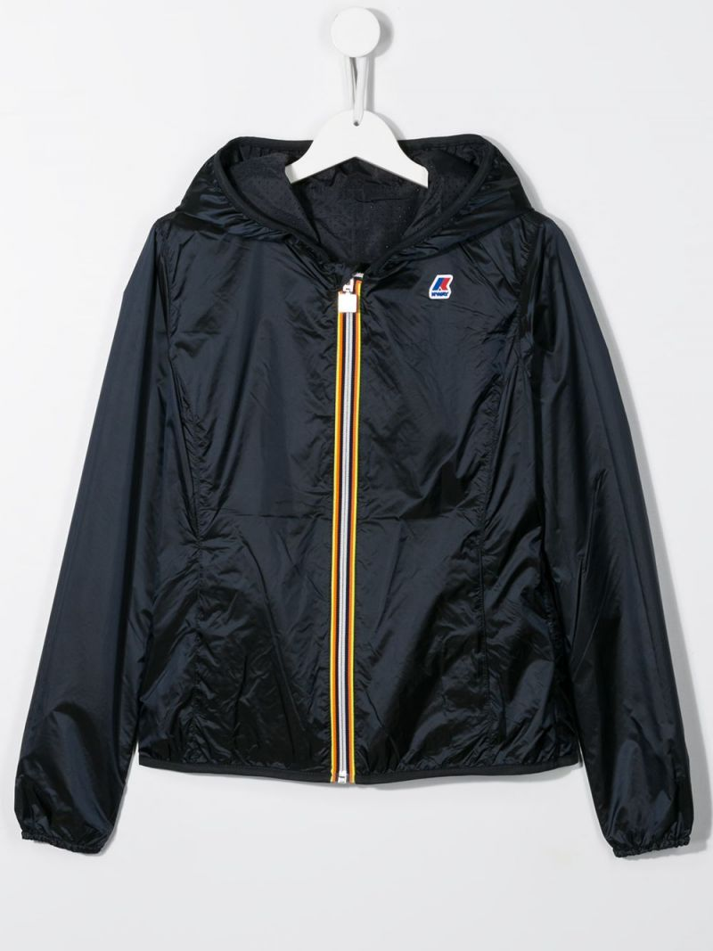 K-WAY KIDS: Lily nylon reversible windbreaker_2