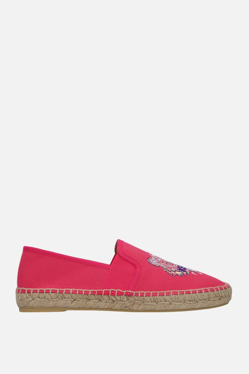 KENZO: Kenzo canvas espadrilles Color Red_1