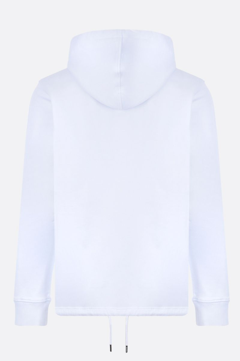 KENZO: Tiger cotton hoodie Color White_2