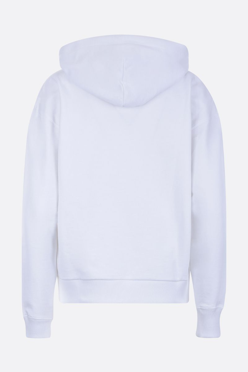 KENZO: Lucky Tiger cotton full-zip hoodie Color White_2