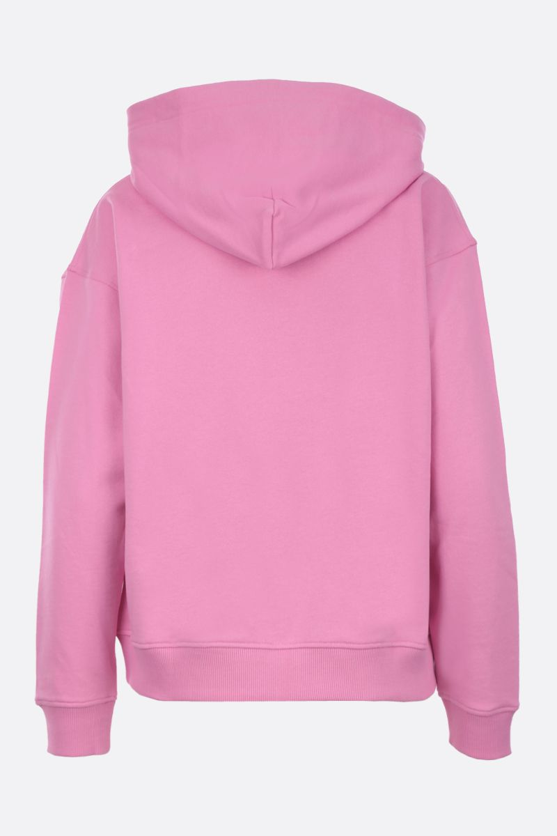 KENZO: Lucky Star cotton hoodie Color Pink_2