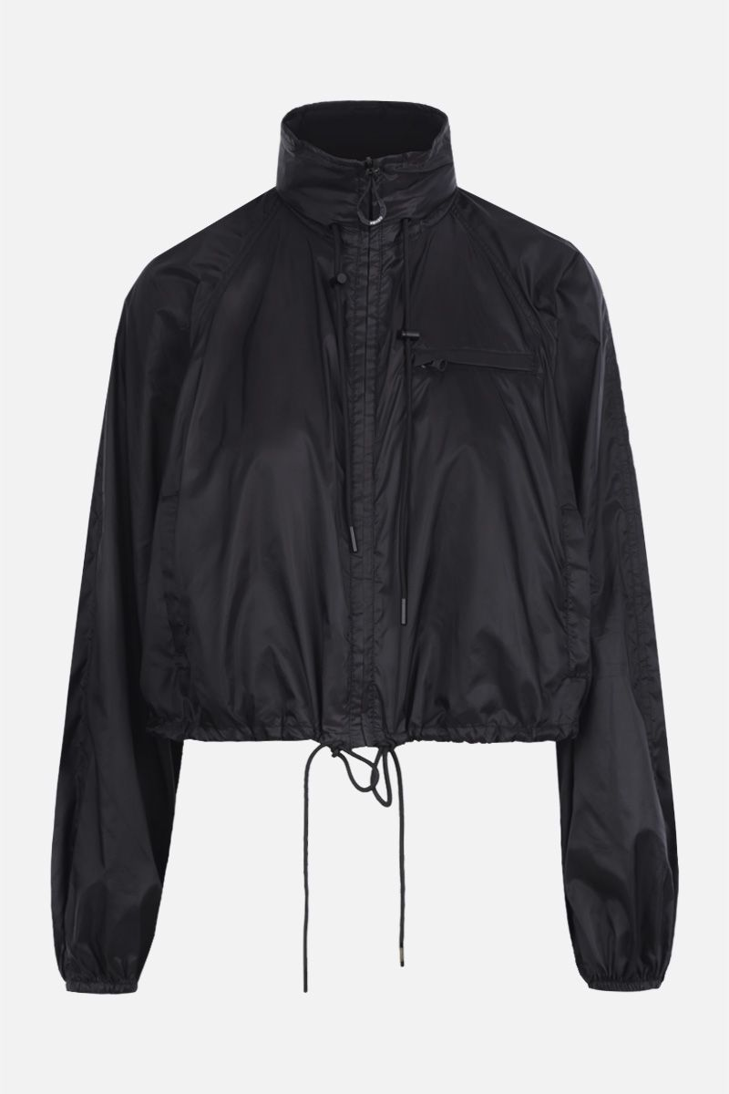 KENZO: Kenzo crop jacket in nylon Color Black_1