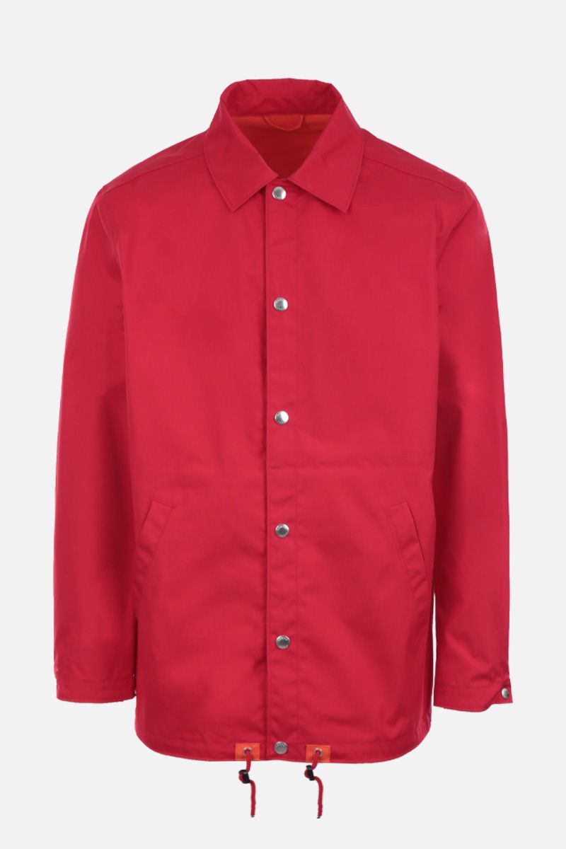 KENZO: Kenzo Paris technical cotton windbreaker Color Red_1
