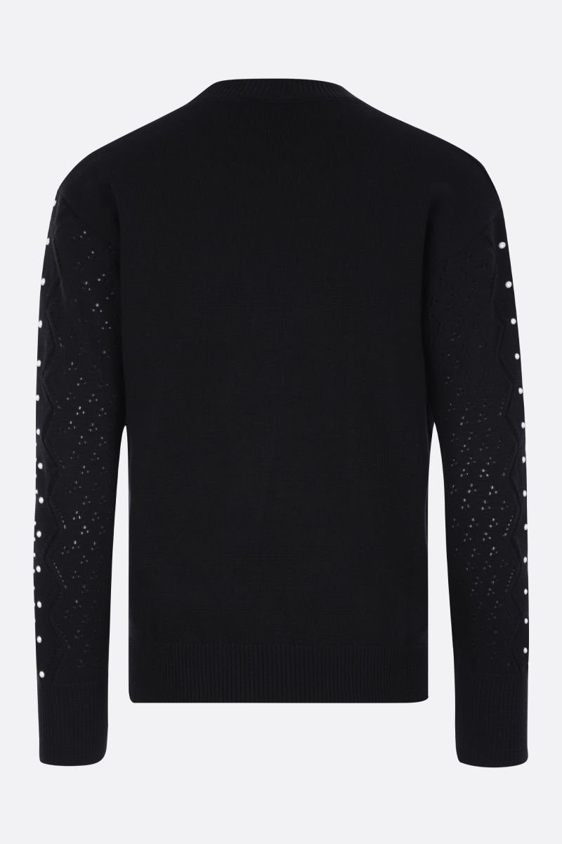 KENZO: Eye cotton pullover Color Black_2