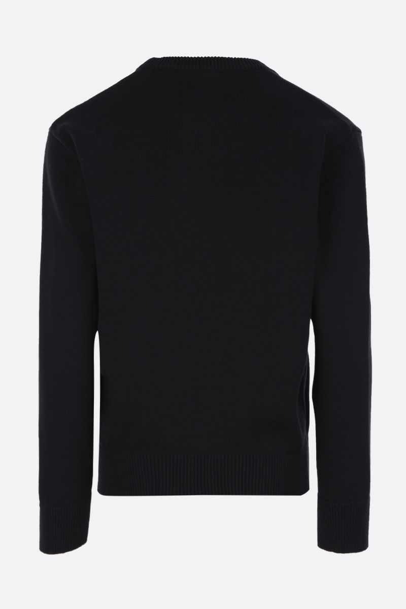 KENZO: Kenzo Paris cotton pullover Color Black_2