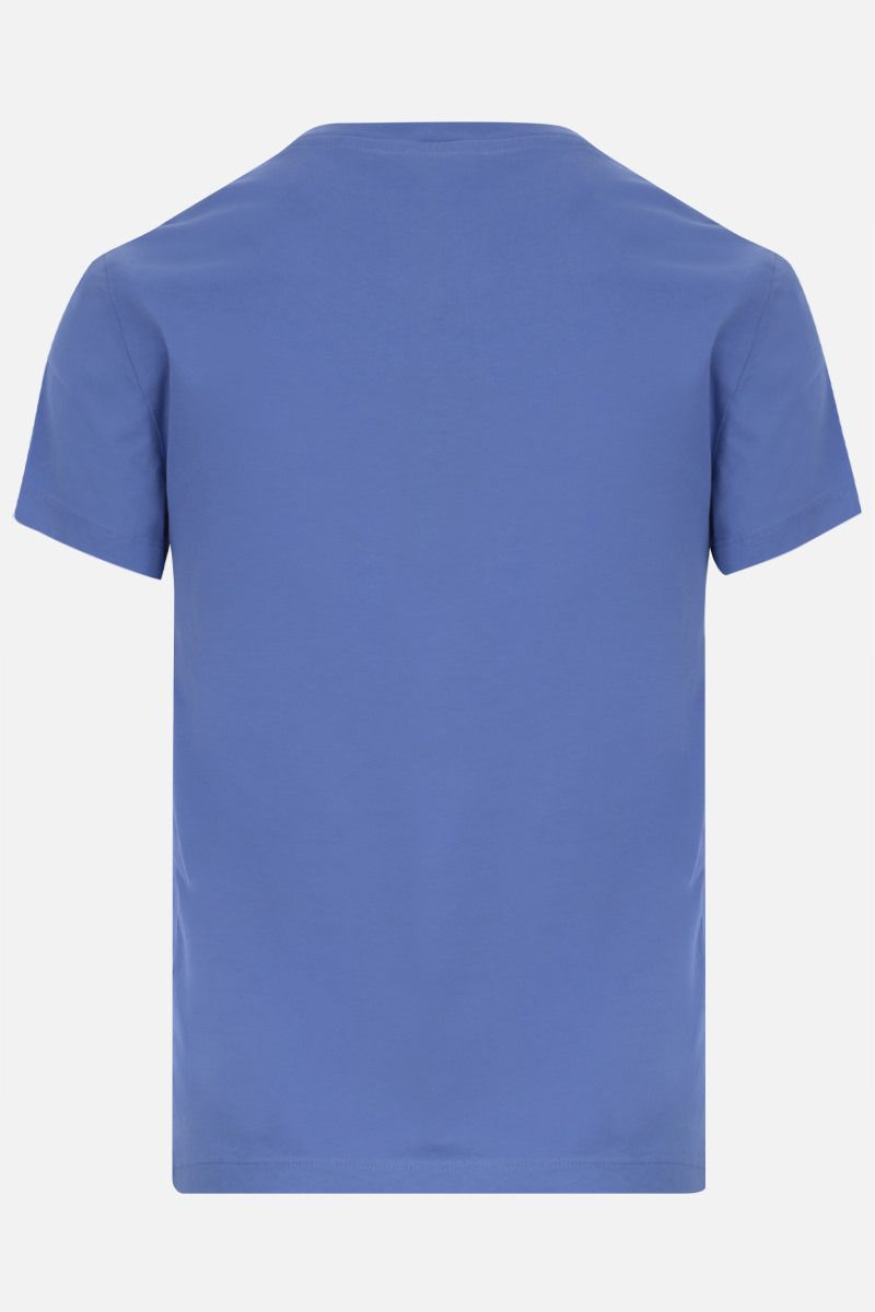KENZO: Tiger cotton t-shirt Color Purple_2
