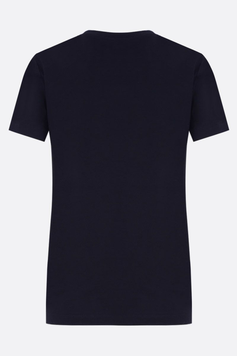 KENZO: t-shirt oversize Lucky Star in cotone Colore Blu_2