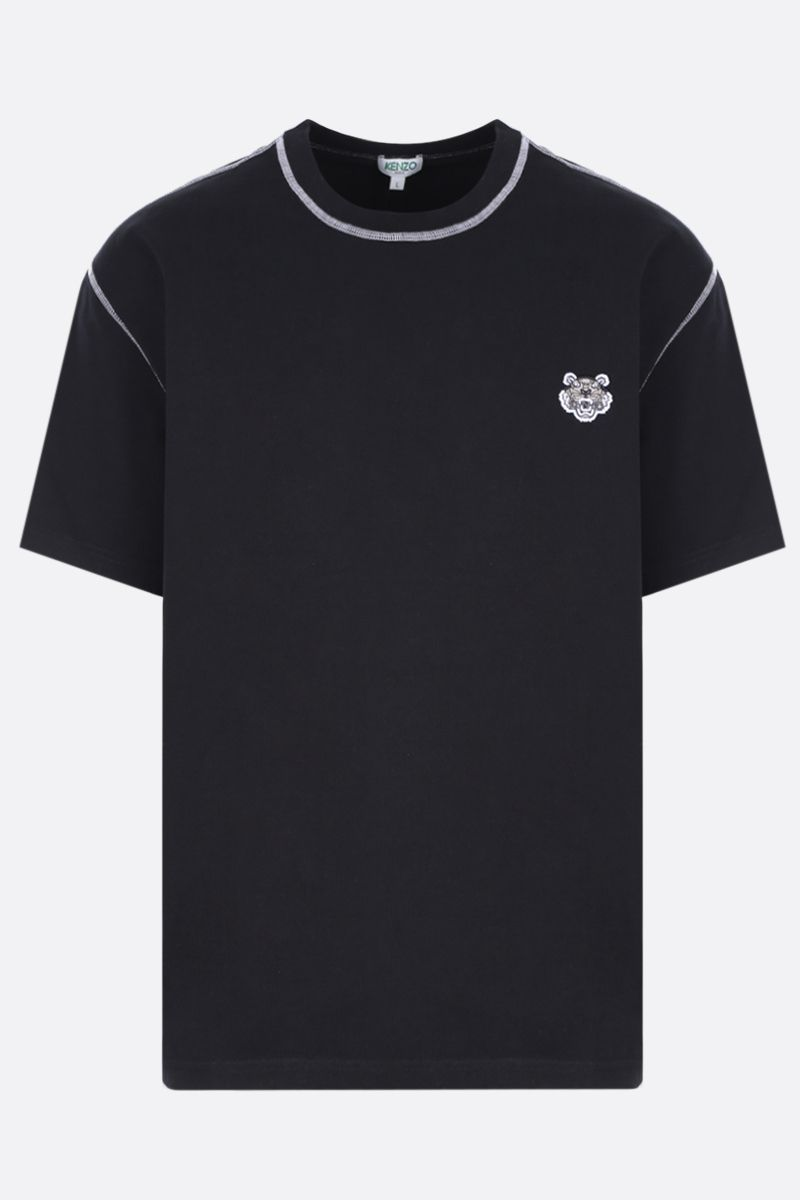 KENZO: Kenzo jersey t-shirt Color Black_1