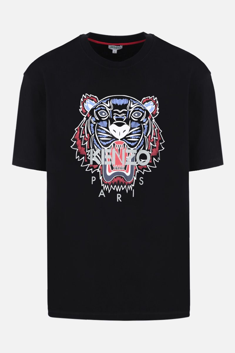 KENZO: oversize Tiger cotton t-shirt Color Black_1