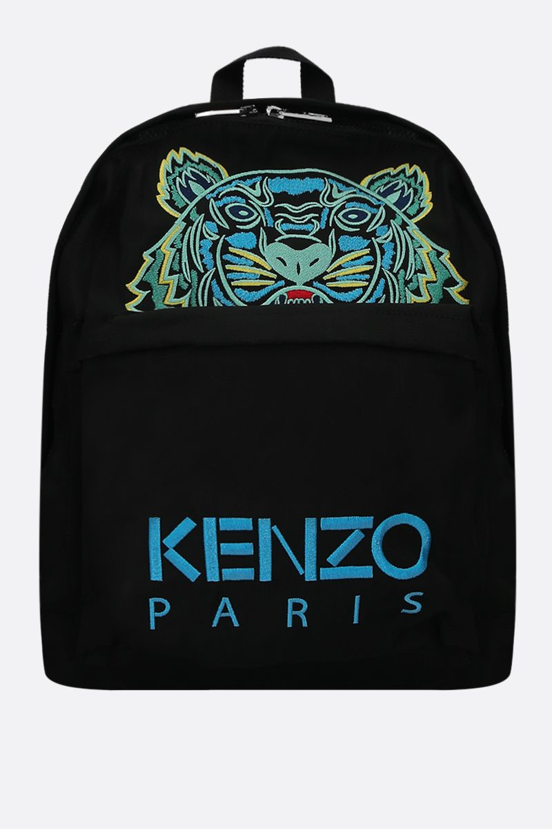 KENZO: zaino Tiger large in canvas_1
