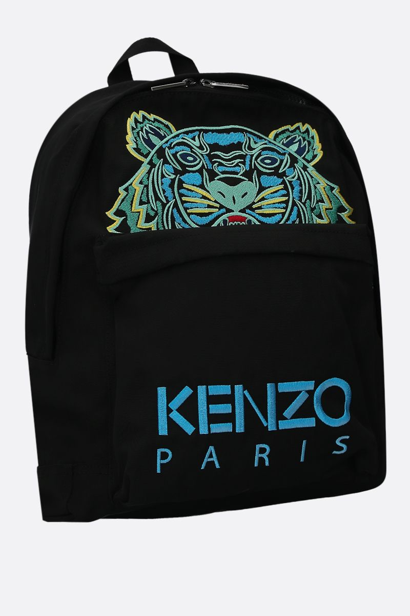 KENZO: zaino Tiger large in canvas_2
