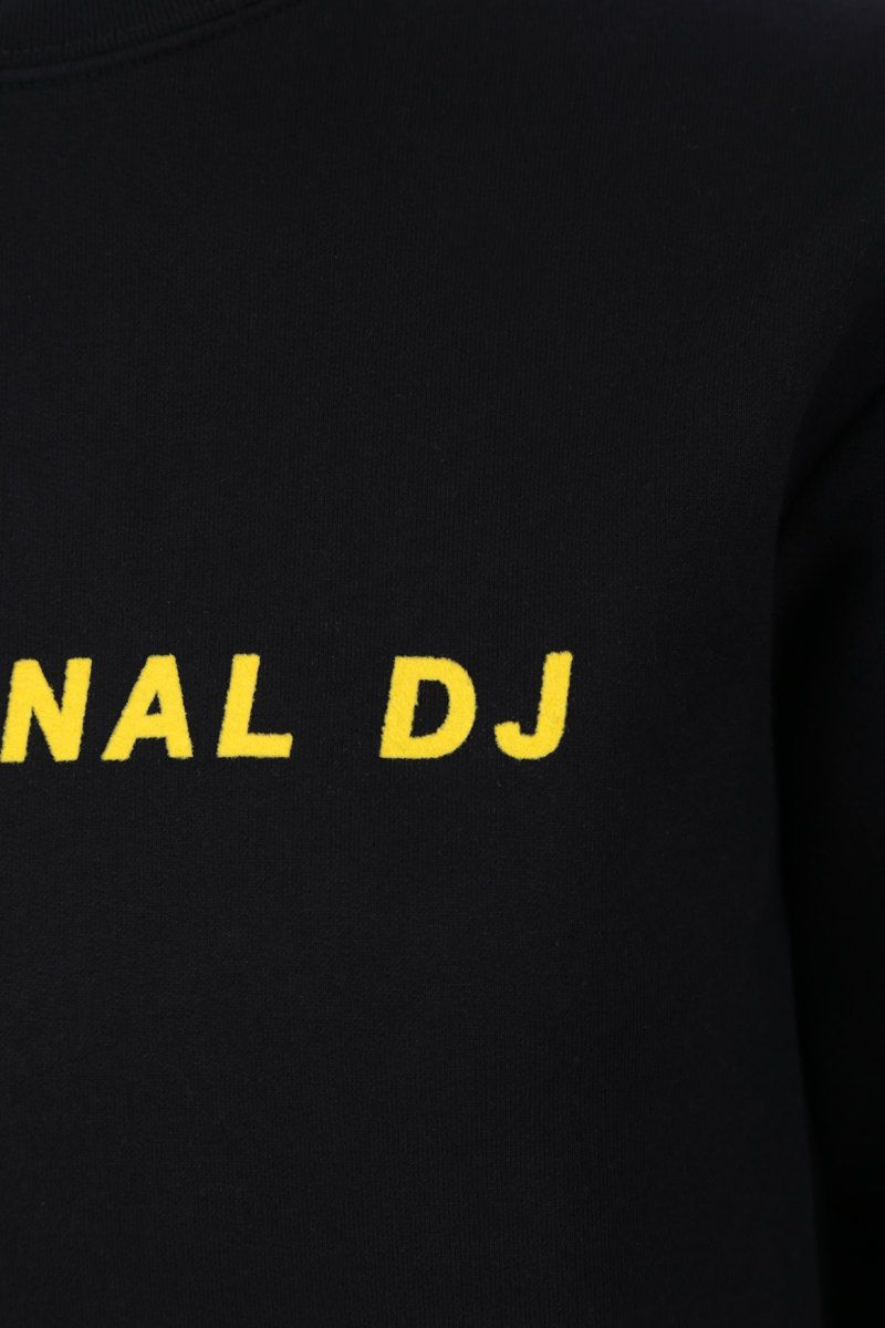 KIRIN: Personal DJ cotton jersey sweatshirt Color Black_3