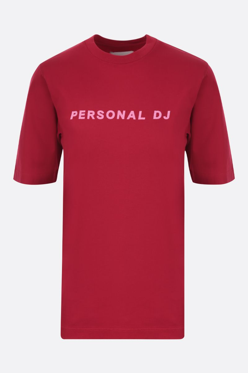 KIRIN: Personal DJ jersey cotton t-shirt Color Red_1