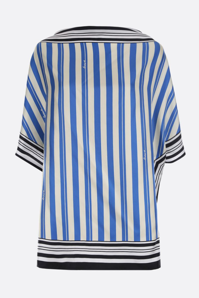 LOEWE: striped silk blouse Color Multicolor_1