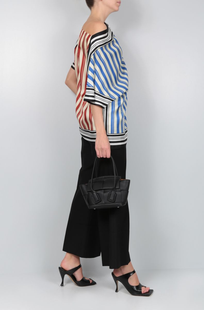 LOEWE: striped silk blouse Color Multicolor_2
