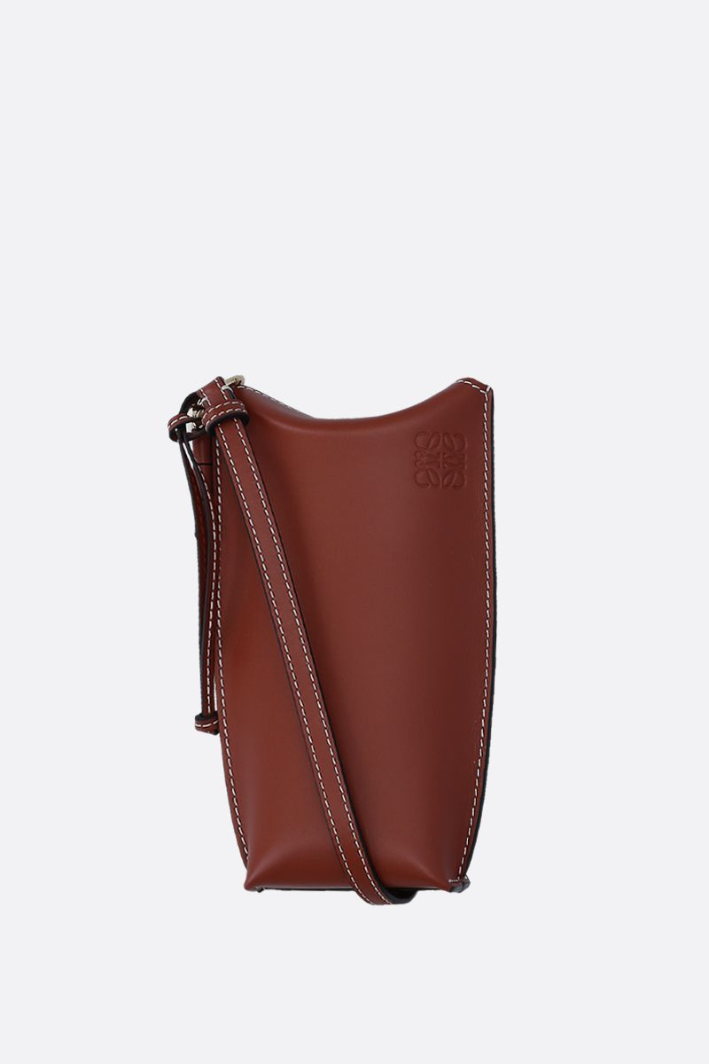 LOEWE: Gate Pocket crossbody bag in smooth leather_1