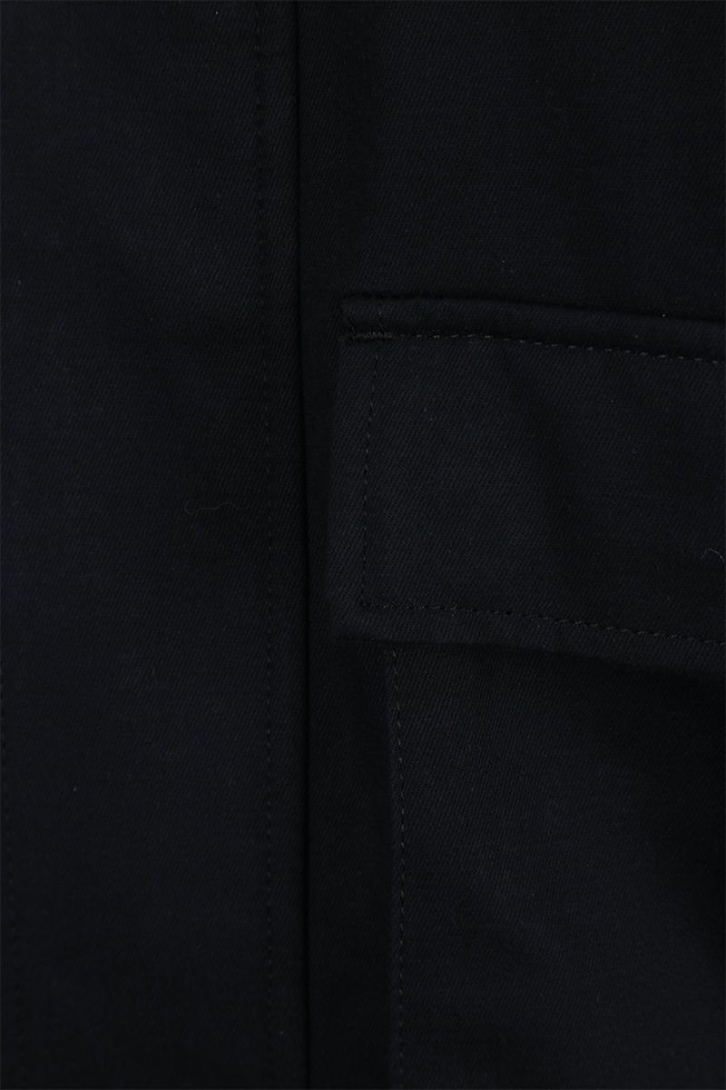 LOEWE: patch pocket-detailed cotton twill jacket Color Blue_5