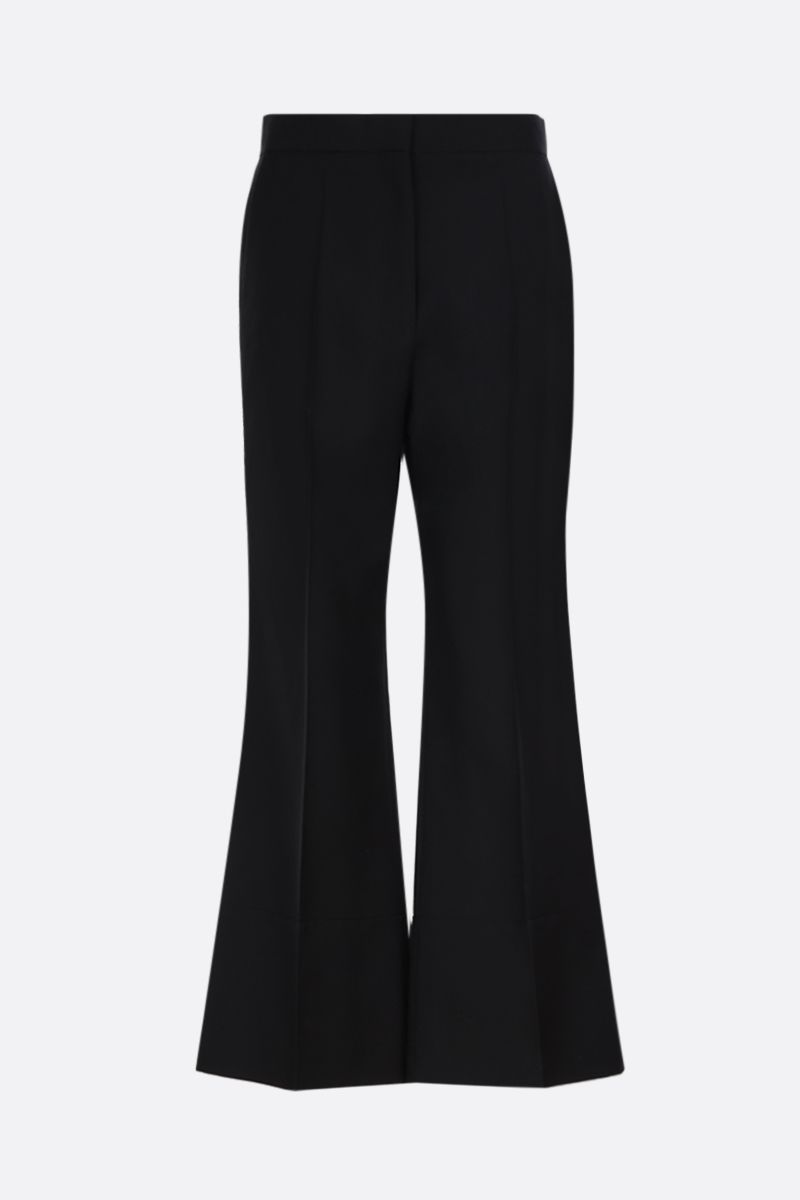 LOEWE: wool flare pants Color Black_1
