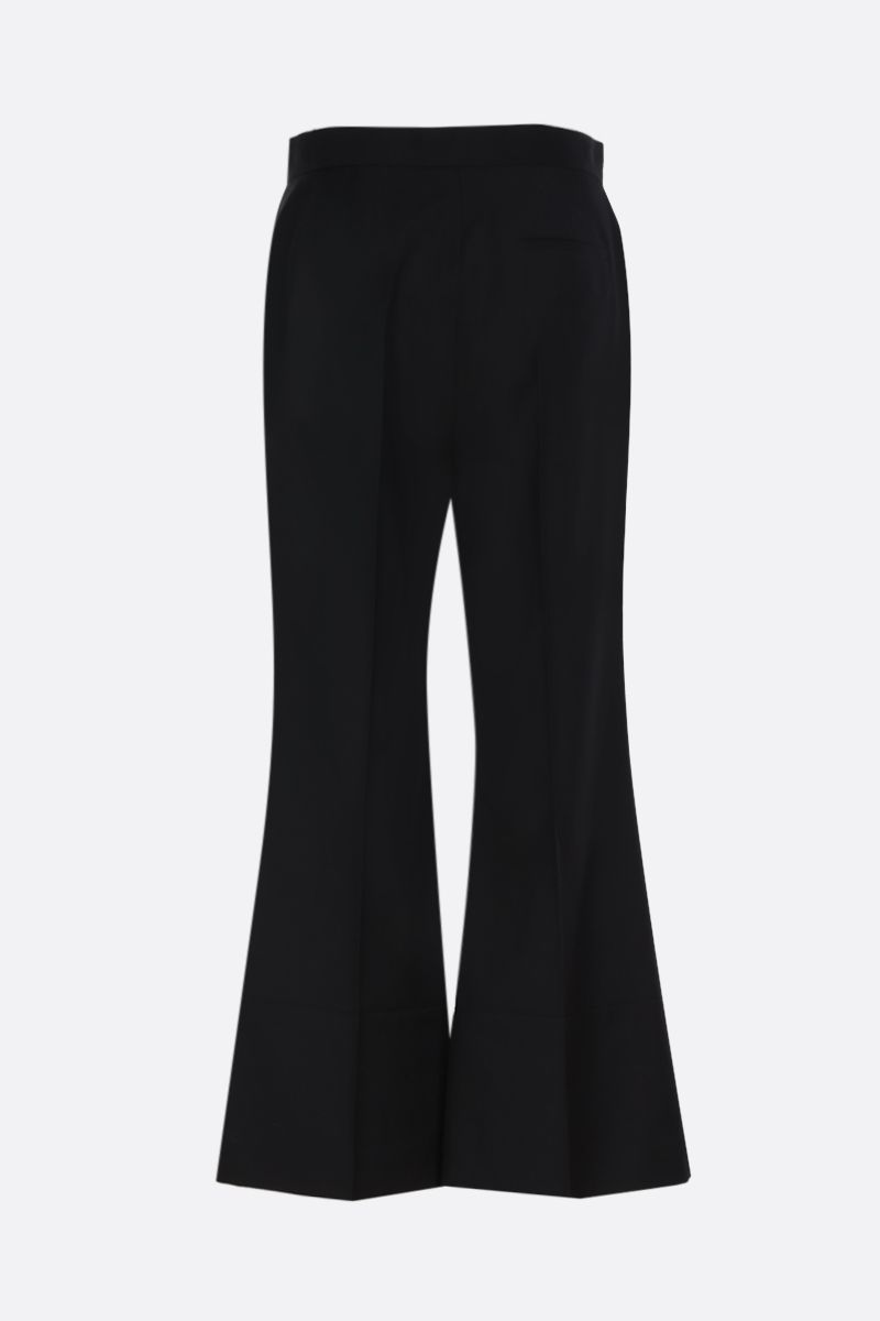 LOEWE: wool flare pants Color Black_3