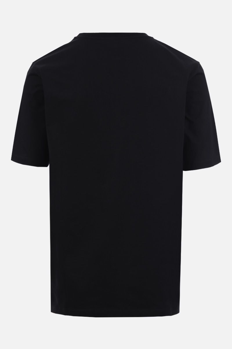 LOEWE: Anagram cotton t-shirt Color Black_2