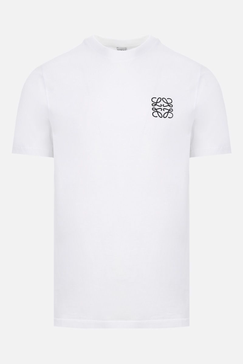LOEWE: Anagram cotton t-shirt Color White_1