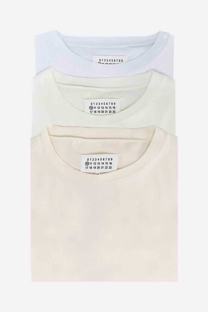 MAISON MARGIELA: Stereotype three t-shirts pack_1