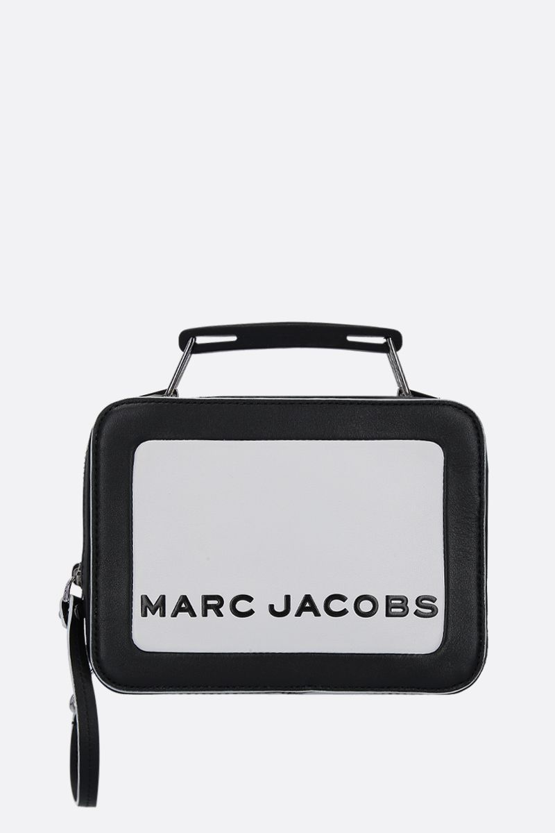 MARC JACOBS: The Box mini handbag in smooth leather Color Multicolor_1