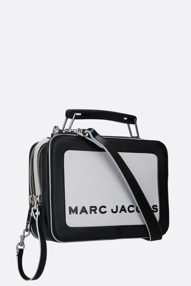 MARC JACOBS: The Box mini handbag in smooth leather Color Multicolor_2