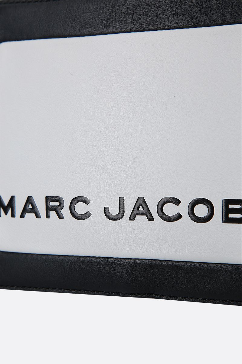 MARC JACOBS: The Box mini handbag in smooth leather Color Multicolor_4