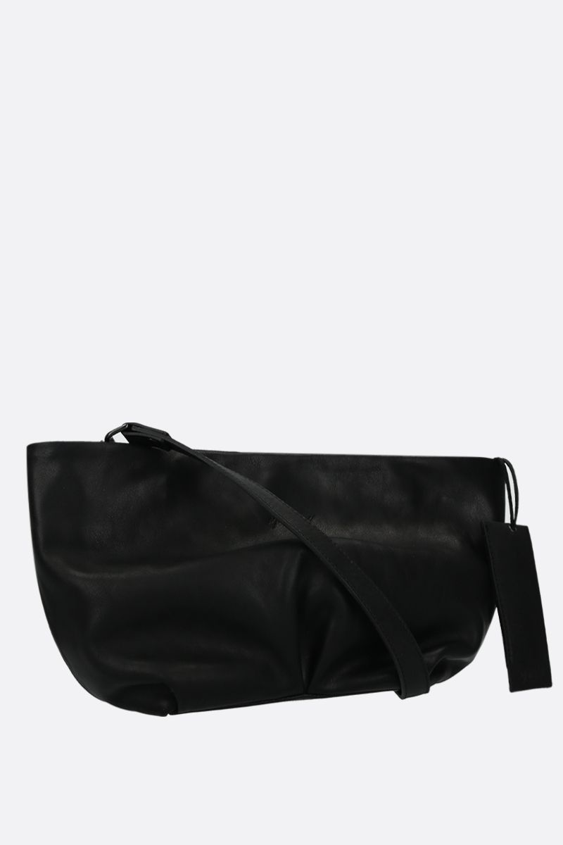 MARSELL: Spinetto small smooth leather strap clutch Color Black_3