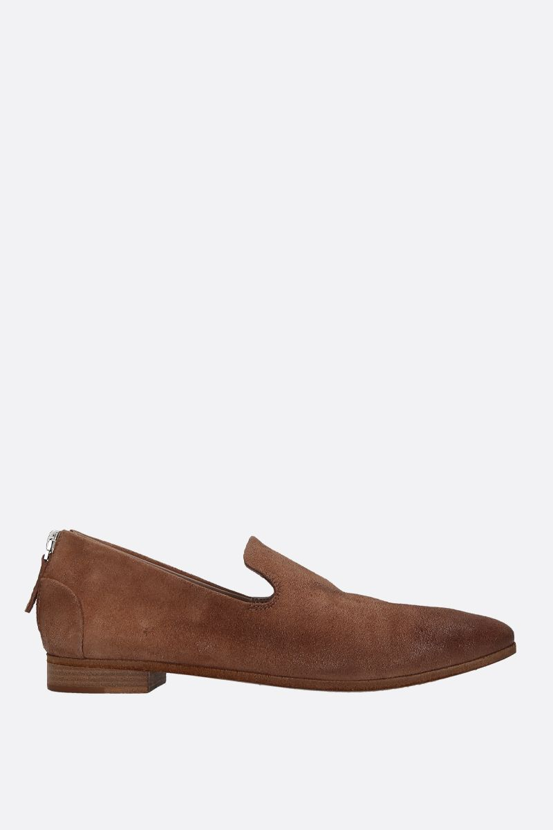 MARSELL: Colteldino slippers in reversed leather Color Brown_1