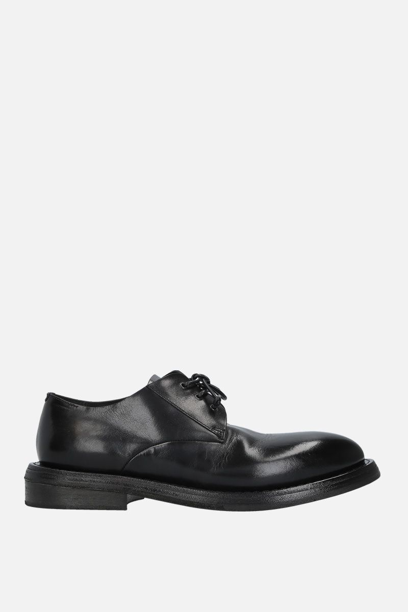 MARSELL: Cetriolo derby shoes in shiny leather Color Black_1