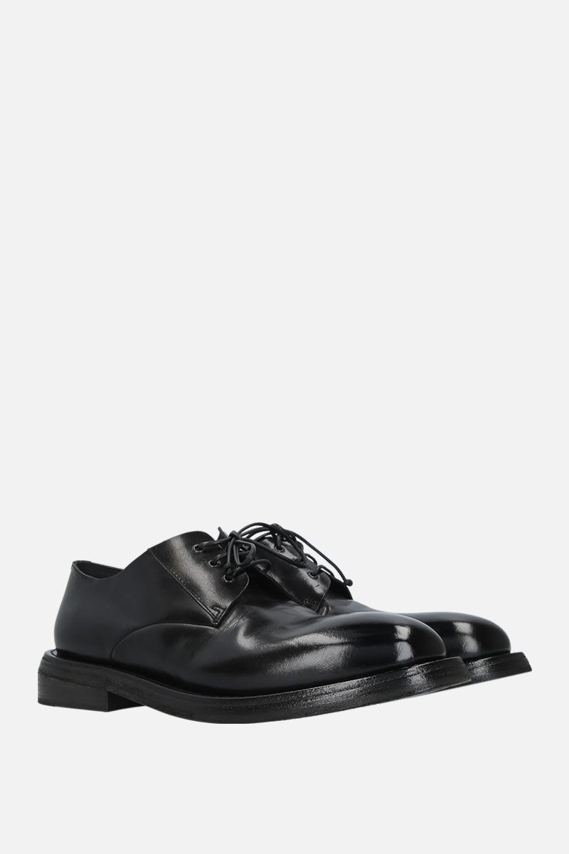 MARSELL: Cetriolo derby shoes in shiny leather Color Black_2