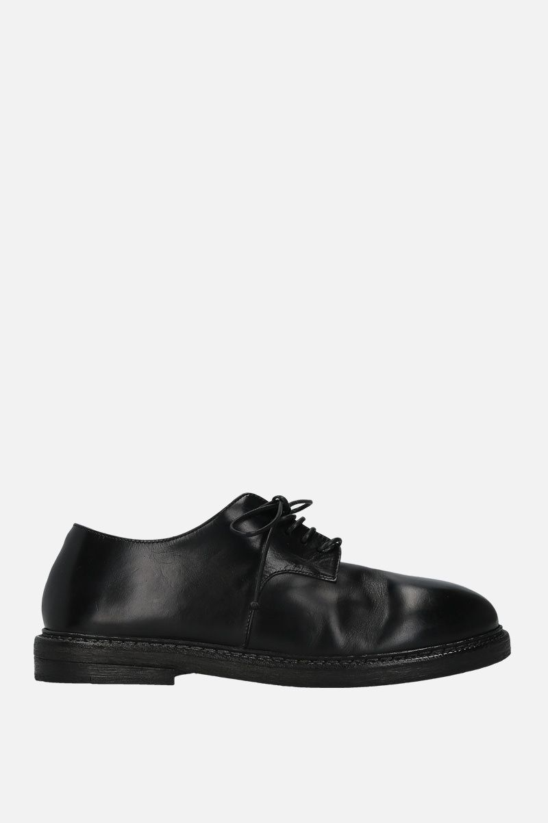 MARSELL: Nasello derby shoes in shiny leather Color Black_1