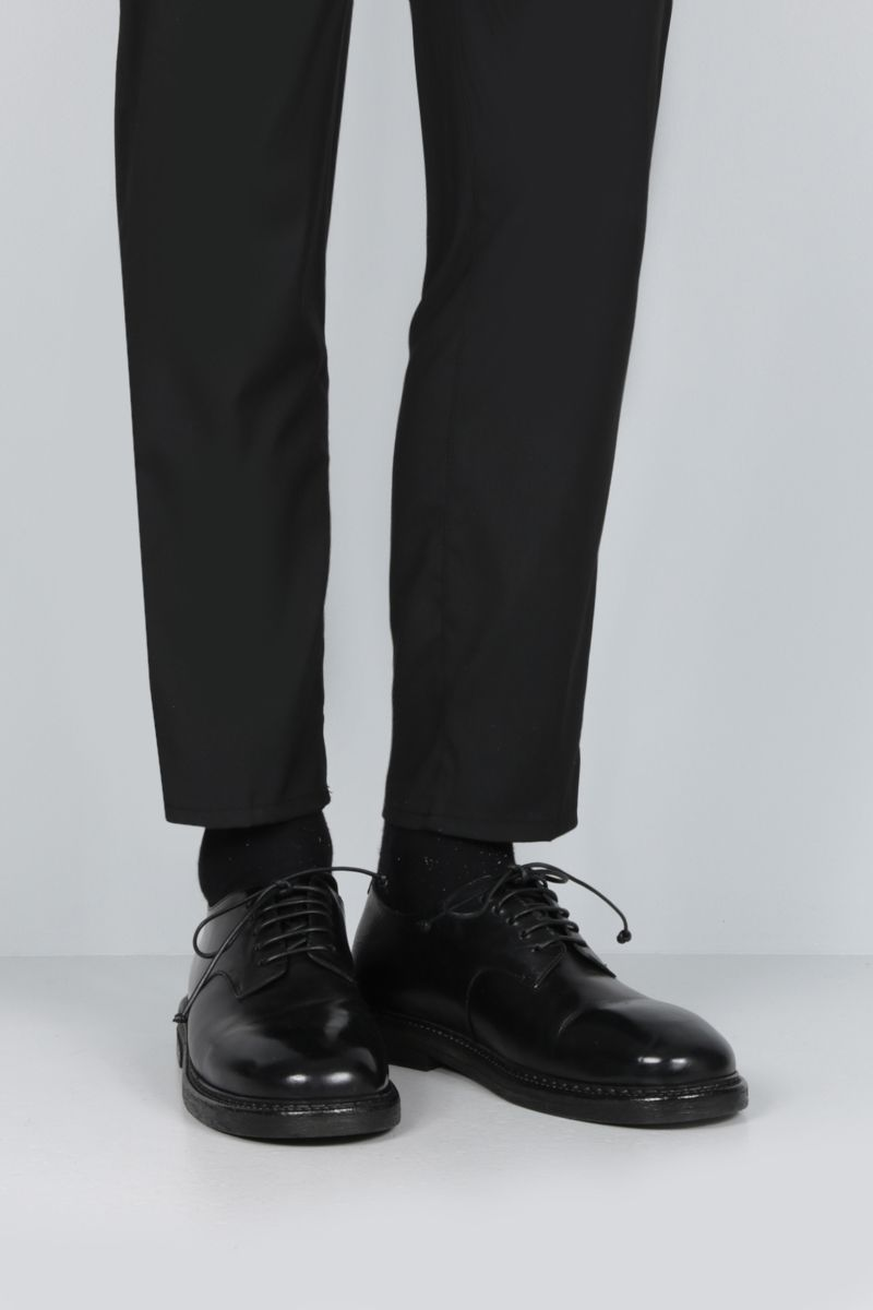 MARSELL: Nasello derby shoes in shiny leather Color Black_2