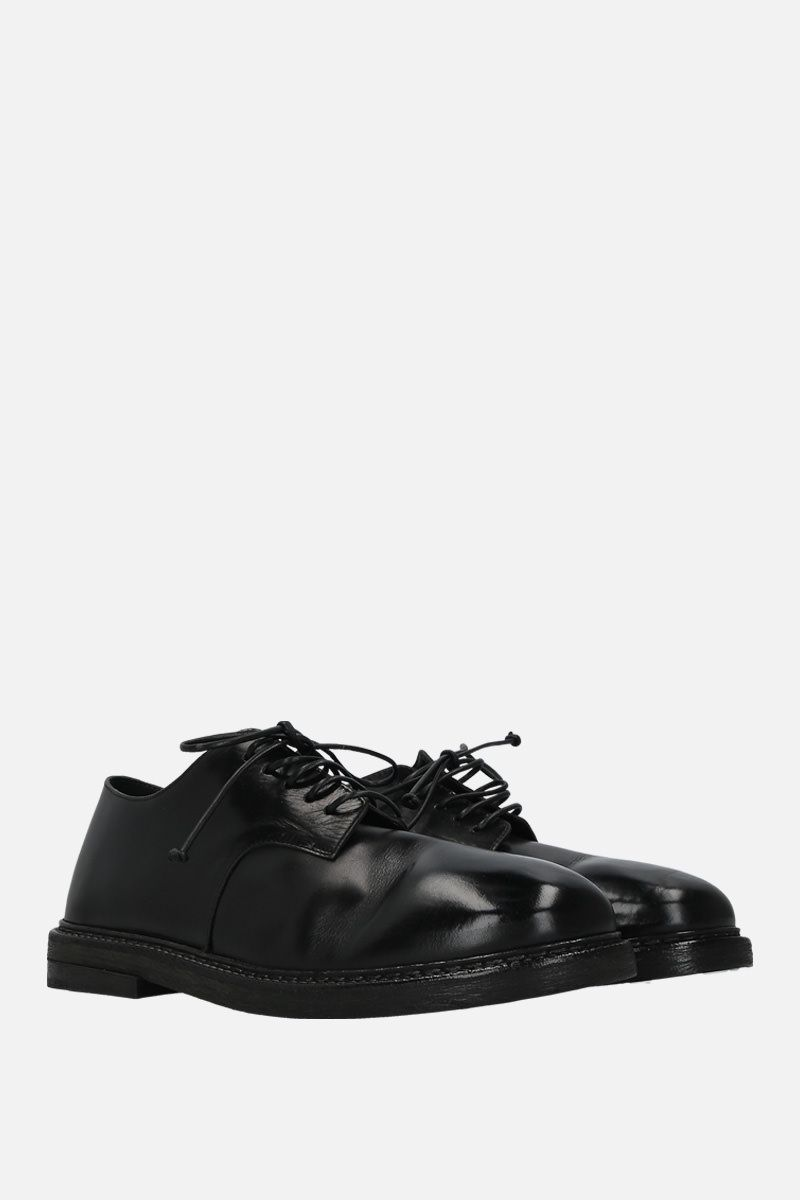 MARSELL: Nasello derby shoes in shiny leather Color Black_3