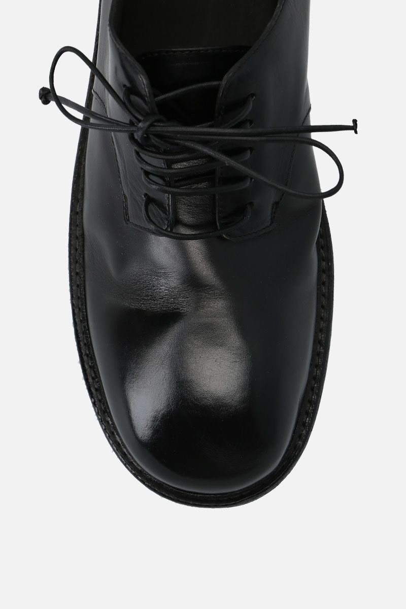 MARSELL: Nasello derby shoes in shiny leather Color Black_5