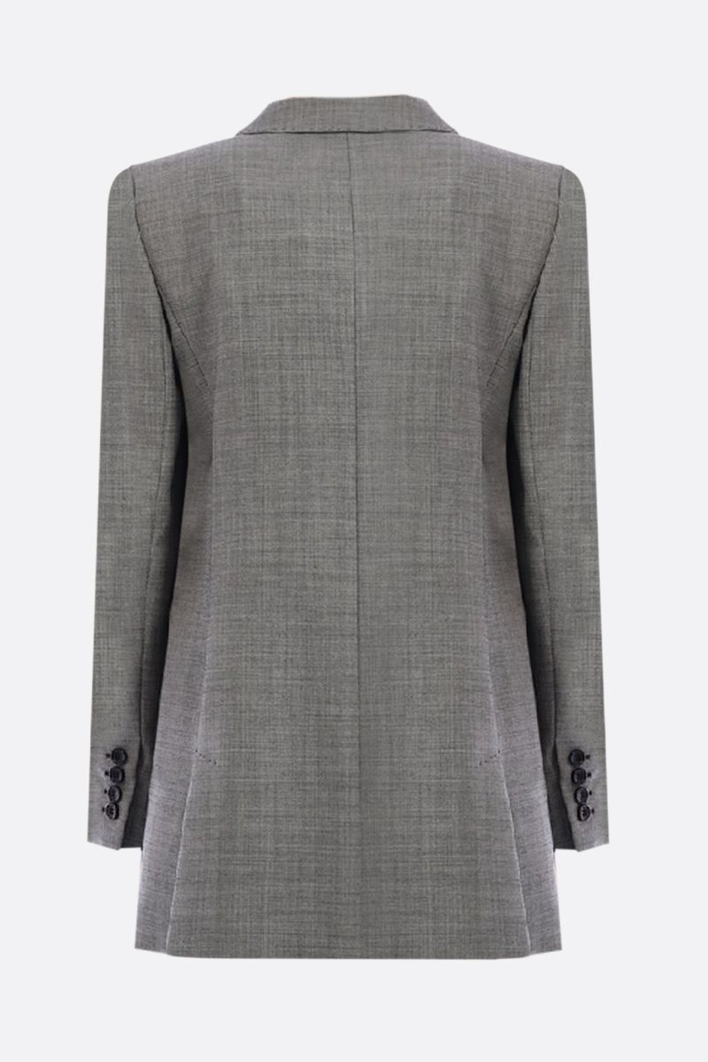 MAX MARA: Antiope stretch wool double-breasted jacket Color Black_2