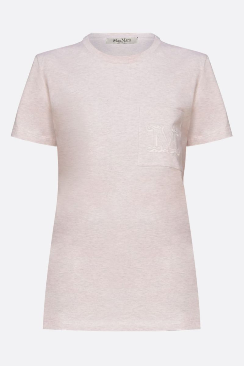 MAX MARA: Joyce cotton t-shirt Color Pink_1
