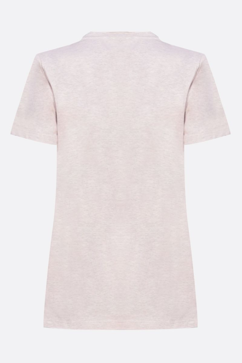 MAX MARA: Joyce cotton t-shirt Color Pink_2