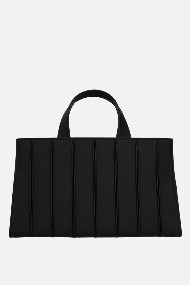 MAX MARA: Whitney large smooth leather tote bag Color Black_1