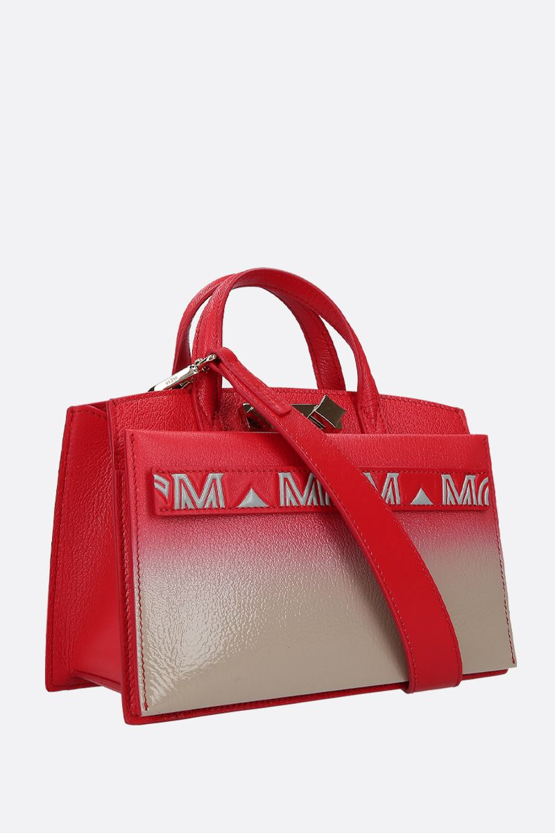 MCM: Milano mini handbag in grainy leather Color Multicolor_2