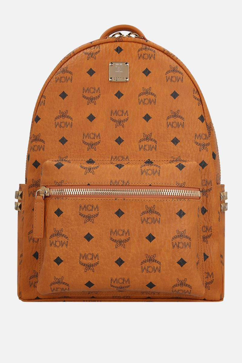 MCM: Stark backpack in Visetos coated canvas Color Brown_1