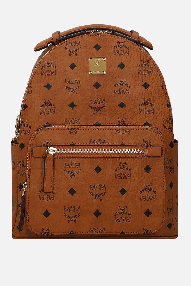 MCM: Visetos coated canvas backpack Color Brown_1
