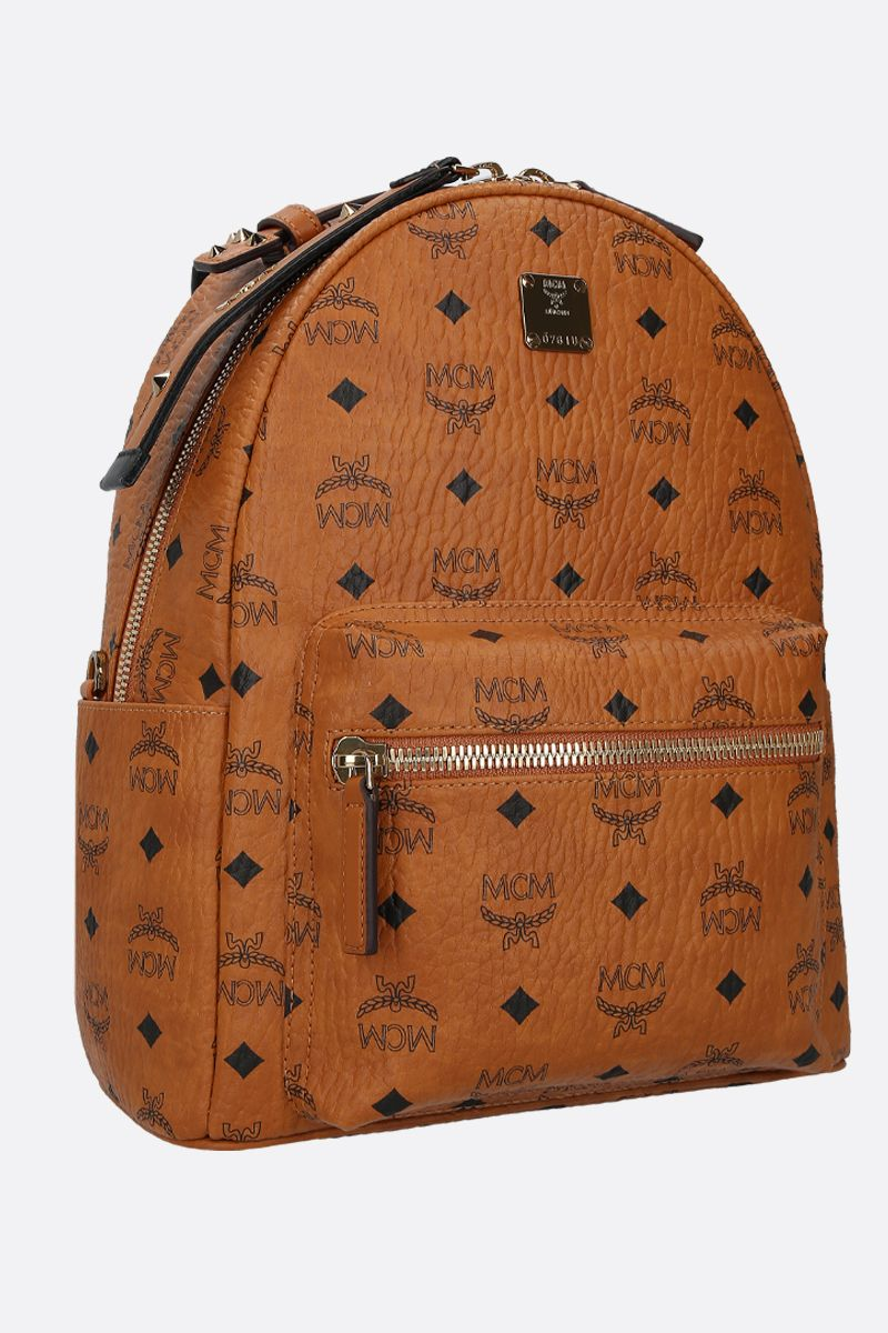MCM: Stark backpack in Visetos coated canvas Color Brown_2